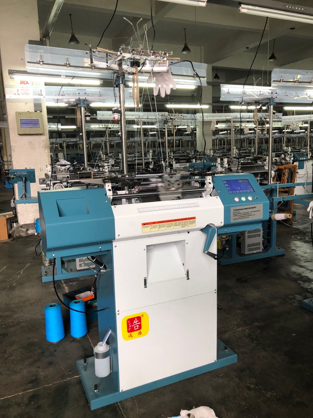 YH-IGK fast speed and high production new type glove machines